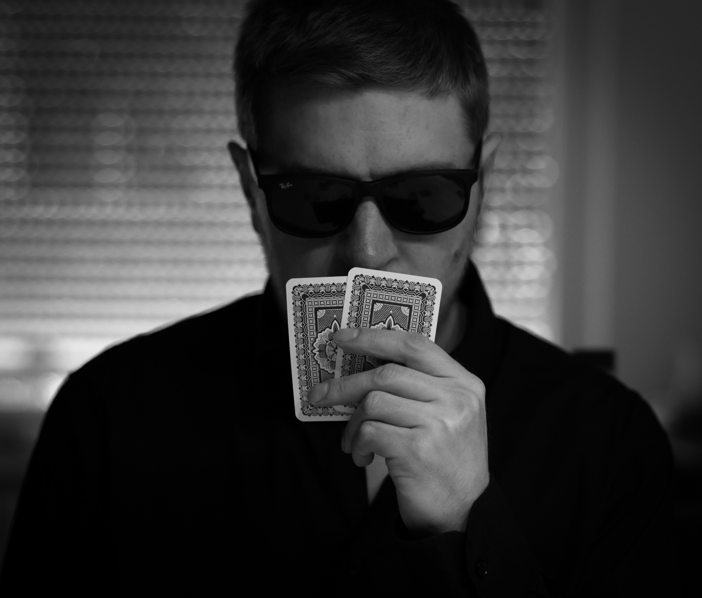 man, male, self, selfpic, selfportrait, poker, gaming © André Schunert